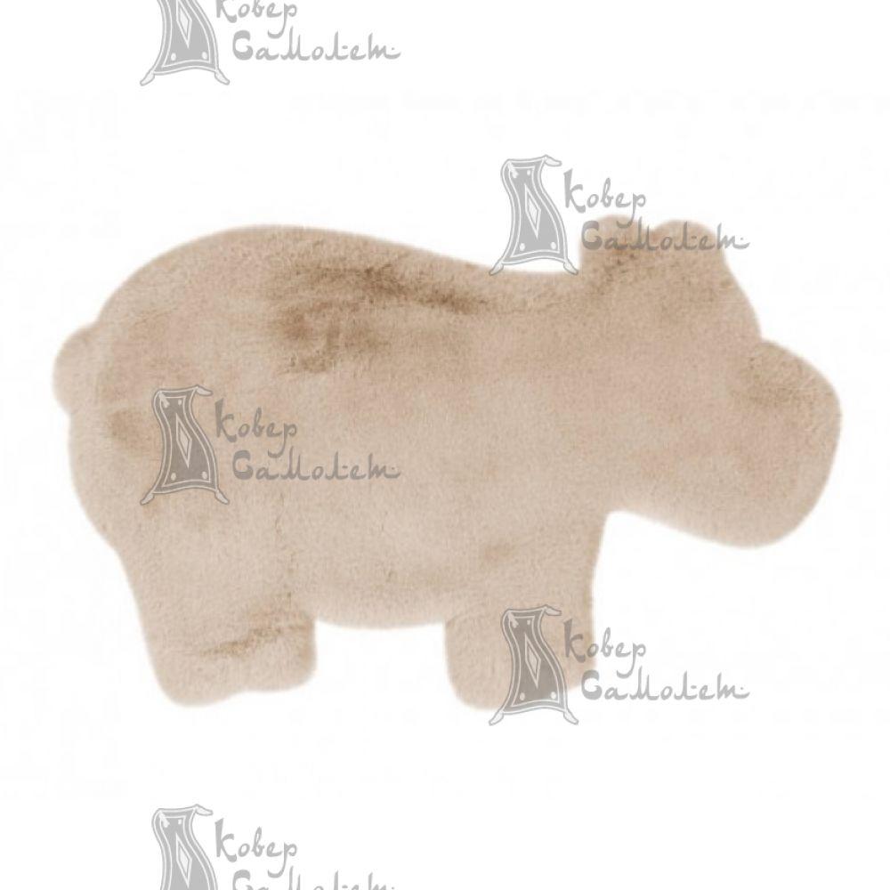 Детский ковёр ANIMALS HIPPO CREAM