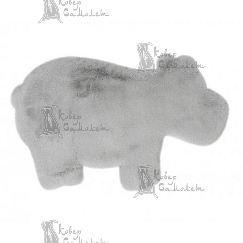 Детский ковёр ANIMALS HIPPO GREY