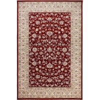 ROYAL ESFAHAN-1 3046A red-cream