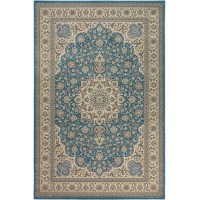 ROYAL ESFAHAN-1,5 2210D blue-cream